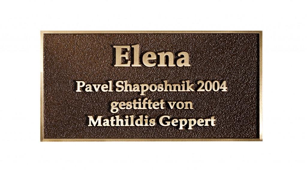 Platte - Elena
