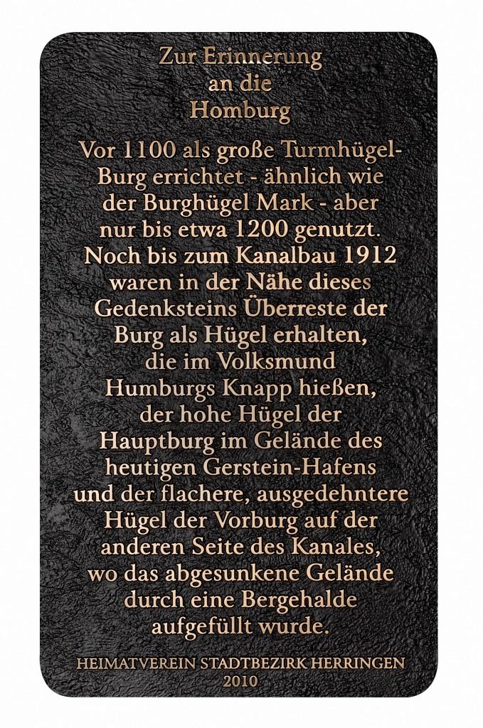 Tafel - Homburg